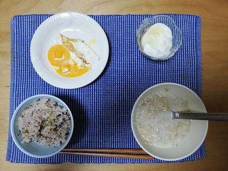 わたしの超時短の筋トレ朝食飯