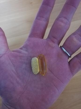 マイプロテインのオメガ3の大きさ