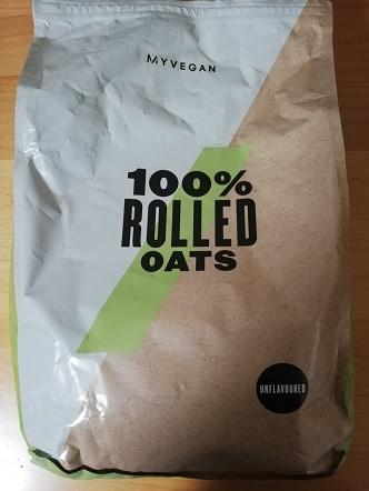 【レビュー】マイプロテインのオートミール「押し麦」を食べた感想