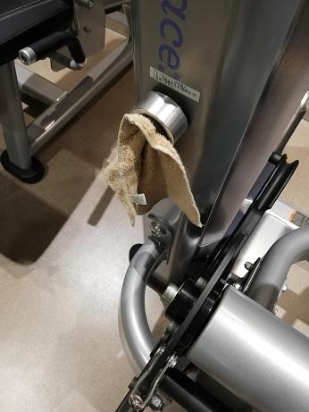 汗拭き用タオル