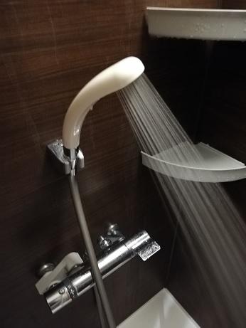 シャワーの水圧