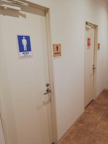 エニタイムフィットネスのトイレ