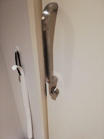 シャワー室のカギ