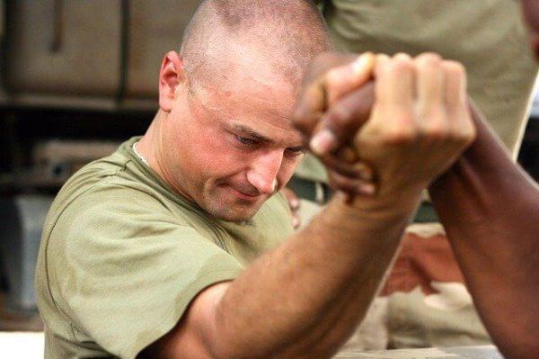 腕相撲で使う筋肉