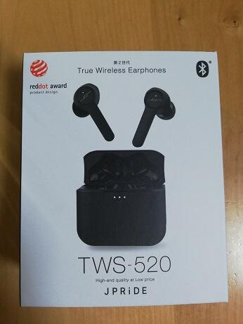 JPRiDE TWS-520を使ってみた感想