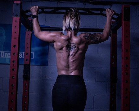 はじめに背中の筋肉を確認