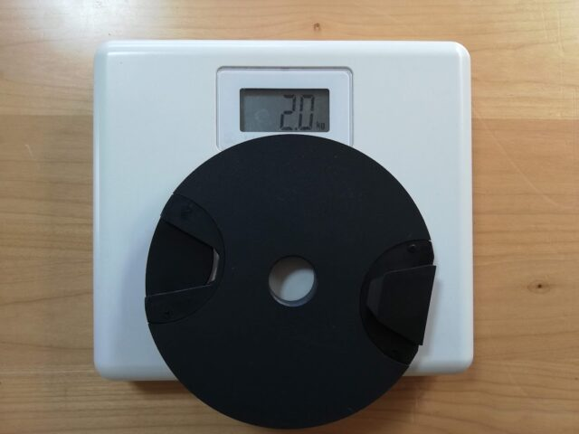 2kgプレートの重さ